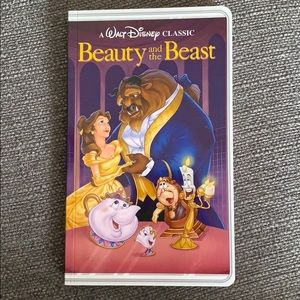 Beauty and the Beast VHS Notebook